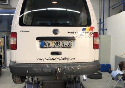 VW Bus Auftragslackierung